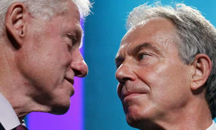 Bill Clinton and Tony Blair