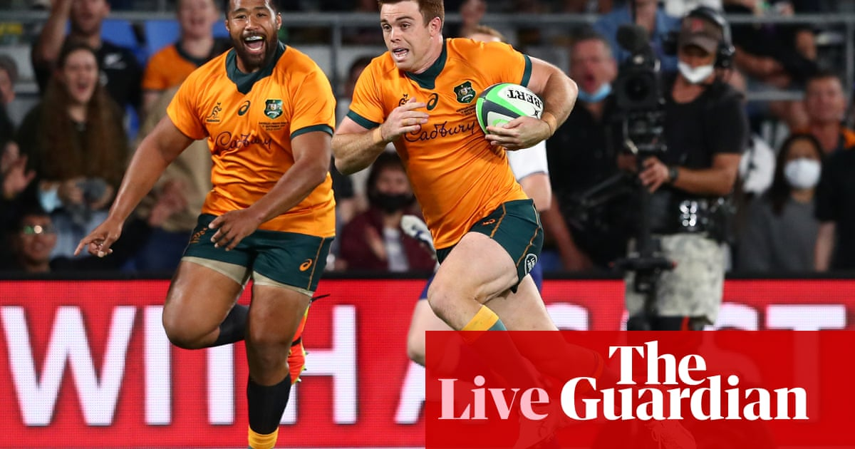 Rugby Championship 2021: Australia beat South Africa 28-26 – live!