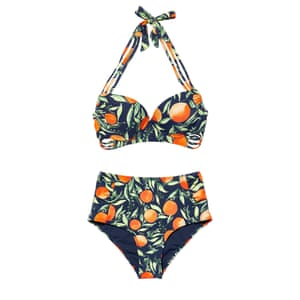 Oranges bikini top, £10, and bottoms, £6, matalan.co.uk
