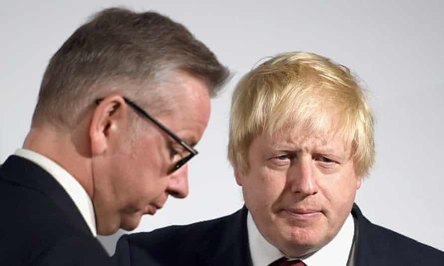 Boris Johnson and Michael Gove.