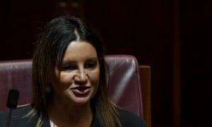 Jacqui Lambie in parliament