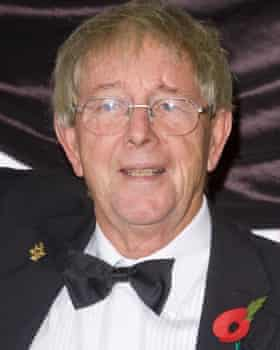 Noakes at the National TV Awards at the Albert Hall in London in 2008