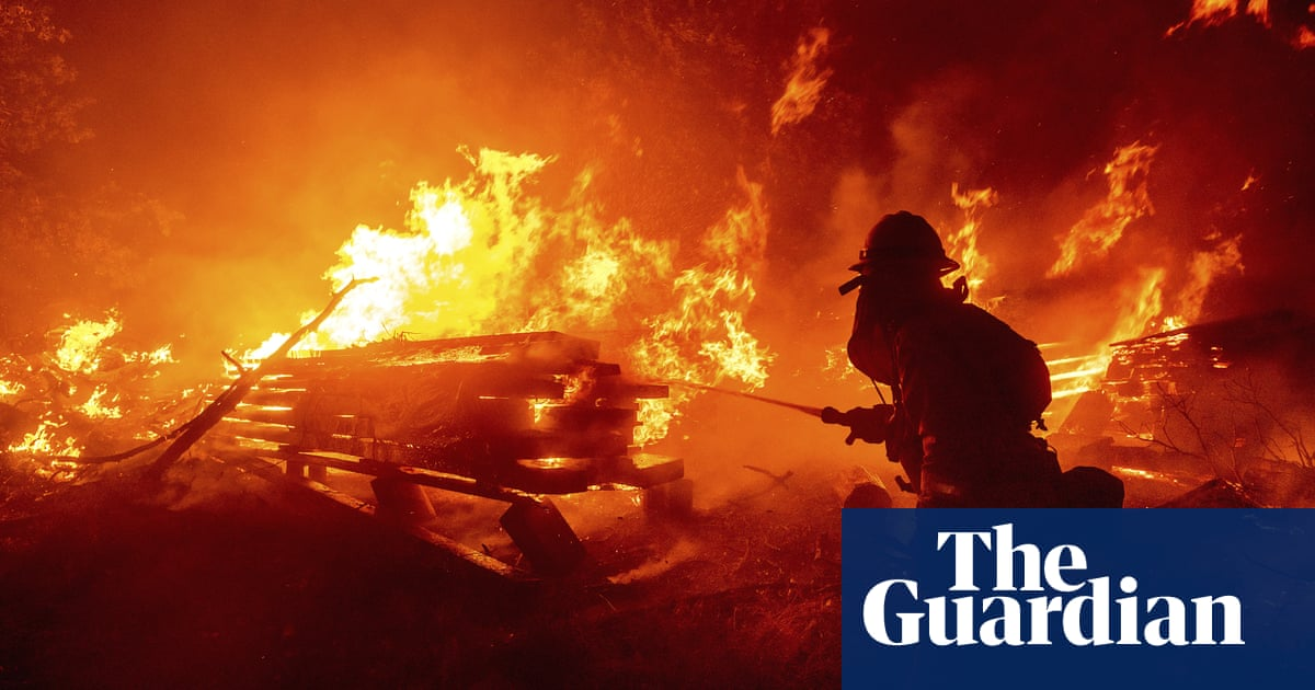 Firefighters pushed to the limits as unprecedented infernos rage across US west coast – The Guardian