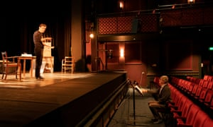 Rehearsal at Malvern Theatre
