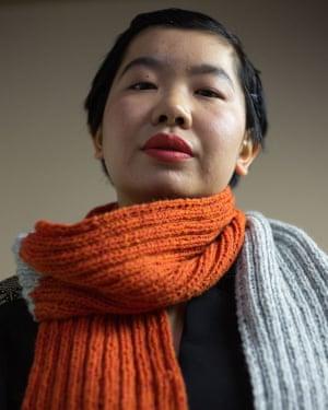 Fashion activism: Birdsong spice scarf.