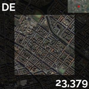 DE - population density maps - berlin