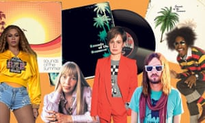 L-r: Beyoncé, Joni Mitchell, Héloïse Letissier of Christine and the Queens, Kevin Parker of Tame Impala, André 3000 of OutKast.
