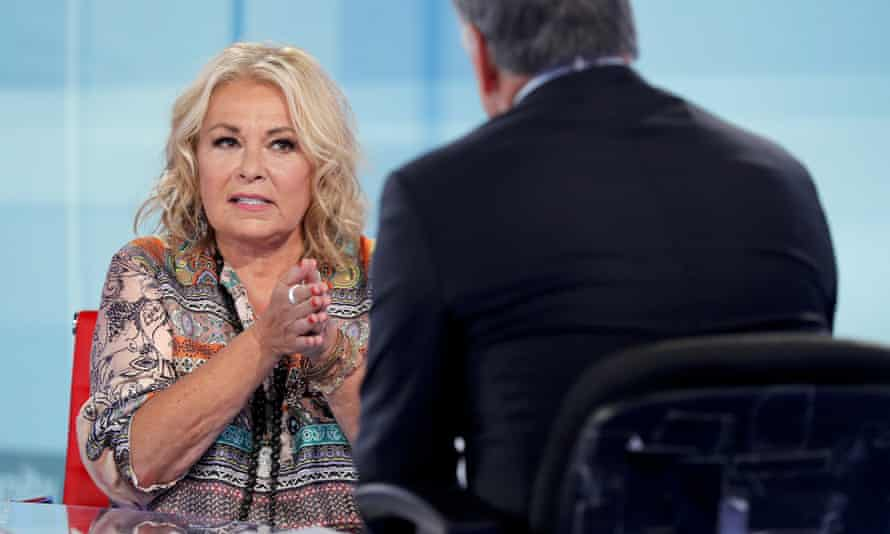 Roseanne Barr has raised eyebrows with tweets that evoked QAnon.