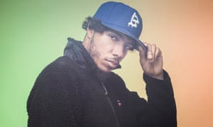 Rapper AJ Tracey photographed by Pal Hansen for the Observer New Review.