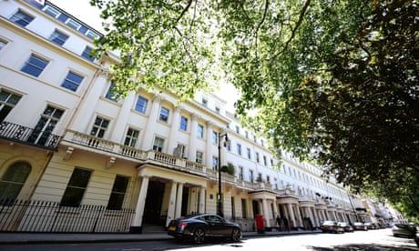 Former home of PMs and 007s named UK's most expensive street