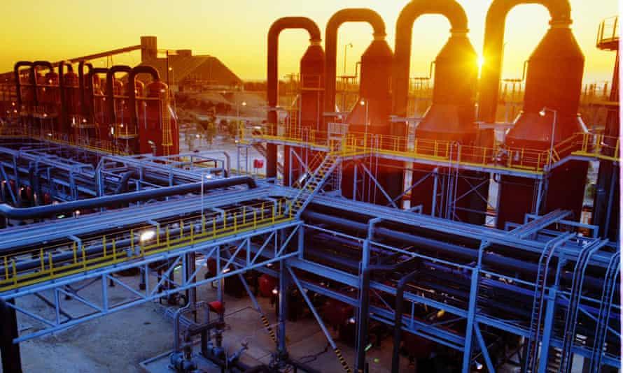 Alcoa's Western Australia alumina factory.