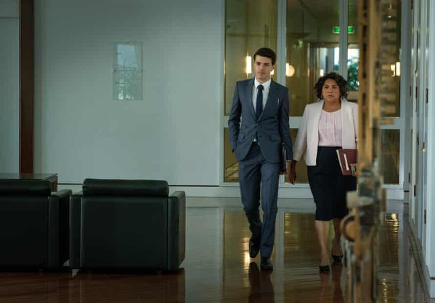 Jonathan (Harry Richardson) and Alex (Deborah Mailman) in new ABC series Total Control.