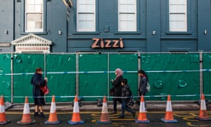 People walk past the Zizzi restaurant where Sergei Skripal and his daughter Yulia ate on the day they were poisoned.