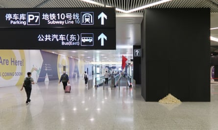 Please do not leave fortune cookies unattended … the snacks at Hongqiao Airport Shanghai.