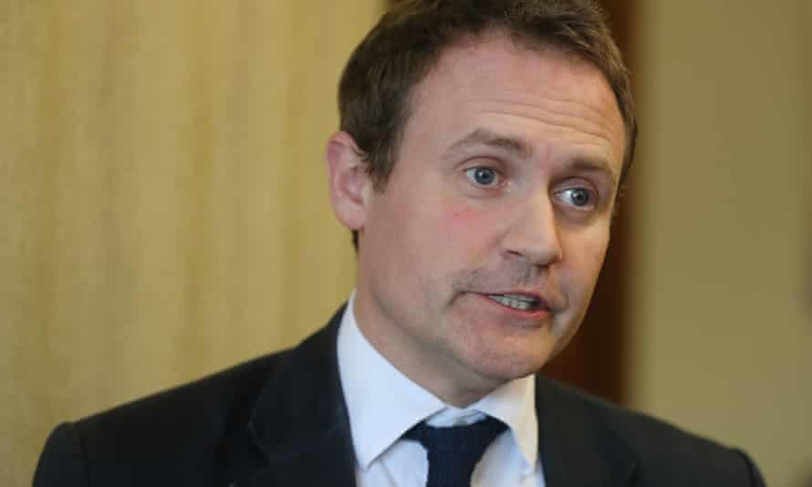The chair of the foreign affairs committee, Tom Tugendhat