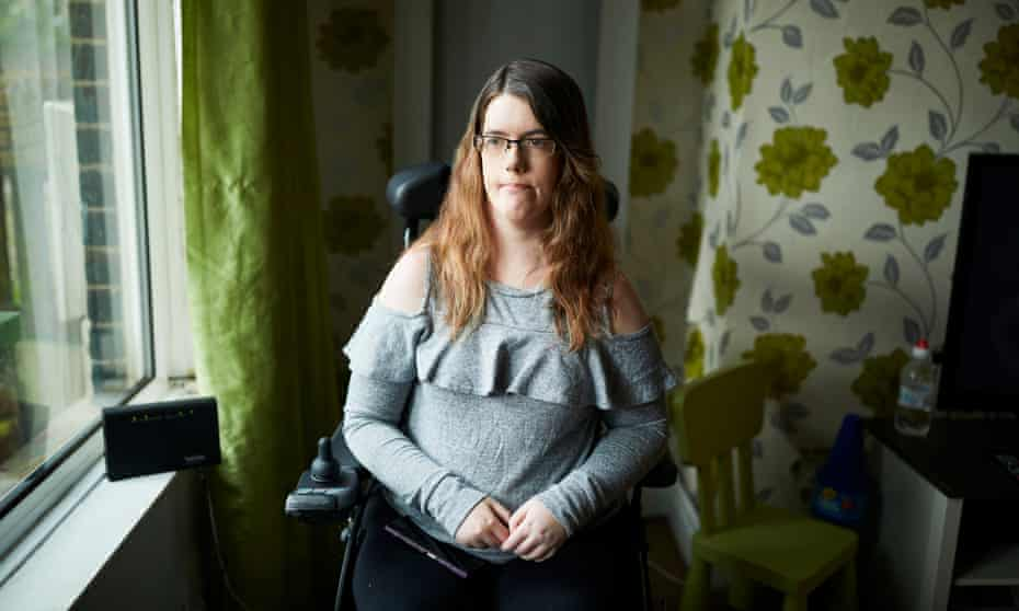 Fi Anderson  at home in Bolton