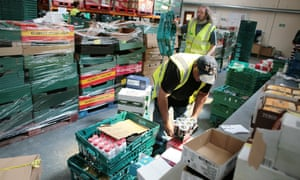 FareShare depot in south London