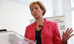 Andrea Leadsom MP, Member Treasury Select Committee speaks in London on 12 Sep 2012