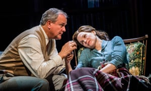 Hope snatched away by fate … Hugh Bonneville and Liz White.