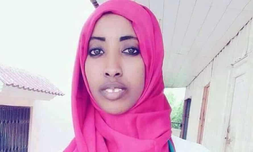 Maryam Abdullahi Gedi, who was killed in the Mogadishu bombing