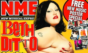 Controversial 2007 cover featuring naked Beth Ditto.