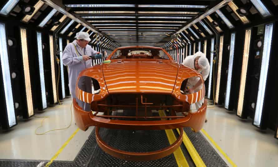 Aston Martin Unveils London Stock Exchange Flotation Automotive Industry The Guardian