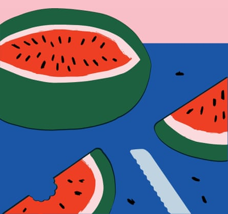 The Best Thing I ate This Summer illustration Observer Food Monthly OFM August 2020