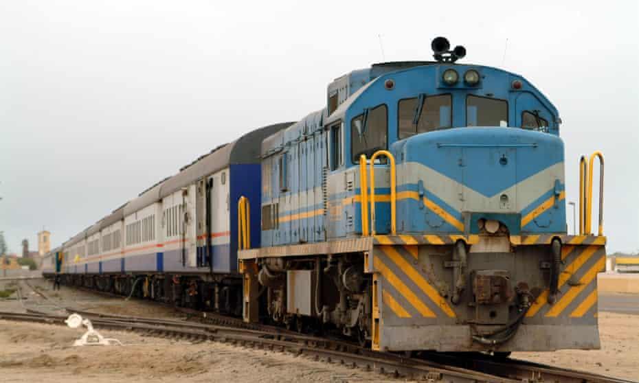 Desert Express Train at Swakopmond Namibia