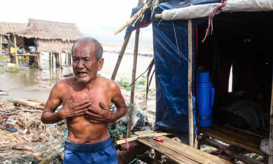 Climate migrants in Myanmar