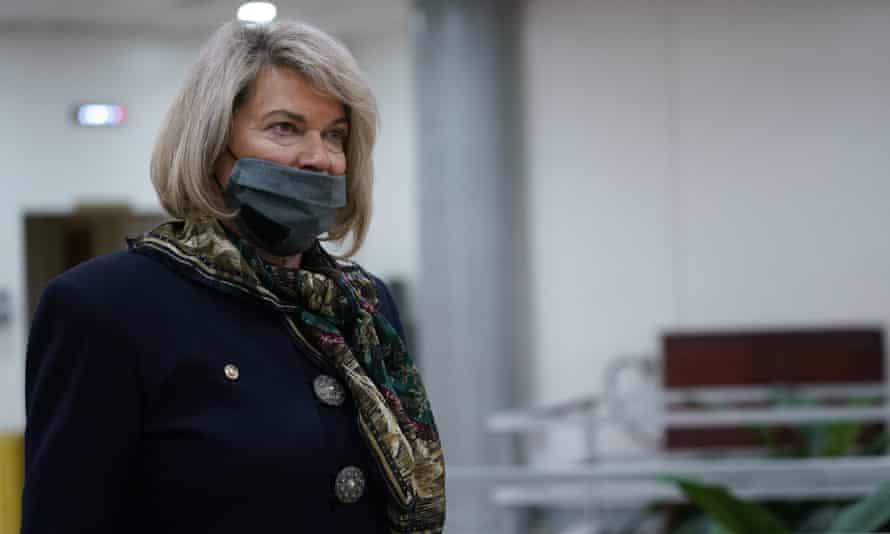 Cynthia Lummis on Capitol Hill on 12 February.