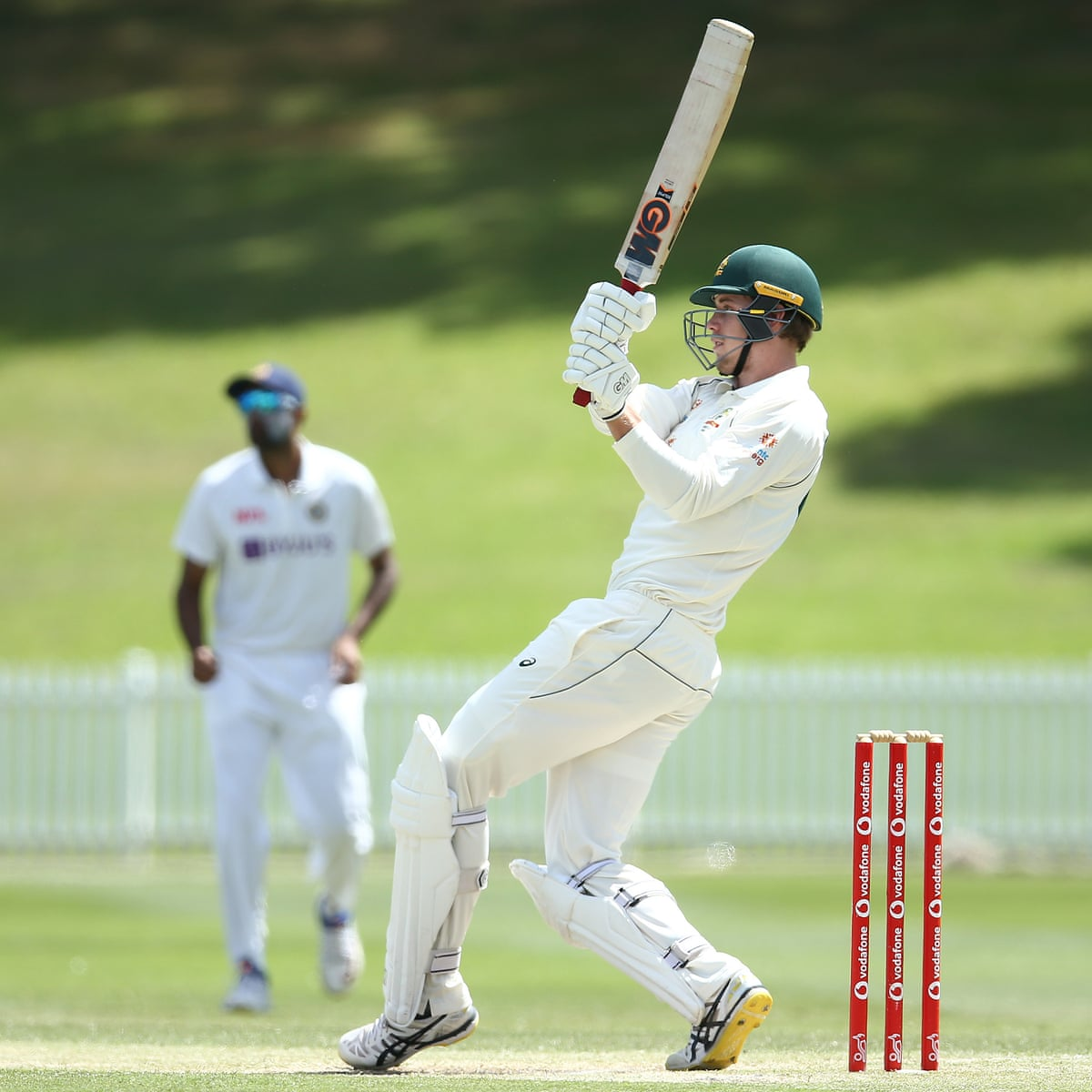 Cameron Green Uses Rare Competitive Tour Match To State Australian Test Case Australia Cricket Team The Guardian