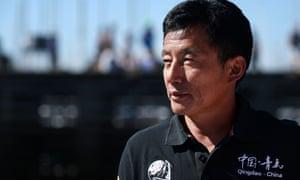 Chinese skipper Guo Chuan