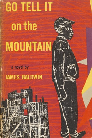 A first edition of Go Tell It on the Mountain by James Baldwin, published in 1953