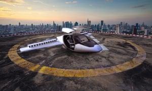 German startup Lilium's two-seater aircraft needs a landing zone no larger than 15 metres square.