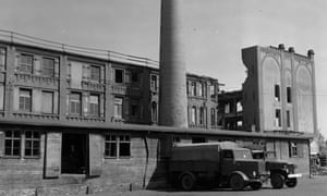 The bakery in Nuremberg, Germany, which supplied bread to Stalag 13, seven miles away.
