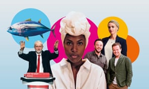 Blue Planet, Jeremy Corbyn, DeWanda Wise in  She's Gotta Have It, I'm a Celebrity and Myriam François