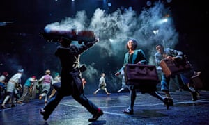 Ensemble spirit … The Lion, the Witch and the Wardrobe at West Yorkshire Playhouse.
