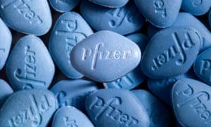 Pfizer's Viagra pills.
