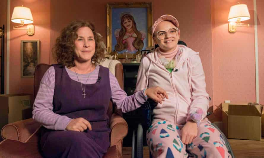 Patricia Arquette and Joey King as Dee Dee and Gypsey Blanchard. The Act makes for a weird, often uncomfortable viewing experience.
