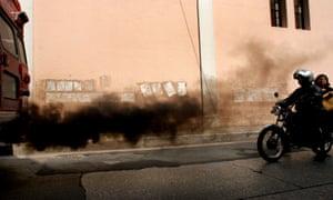 motorbike pollution