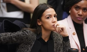 Alexandria Ocasio-Cortez described her experience 'as a person who actually worked for tips and hourly wages'.