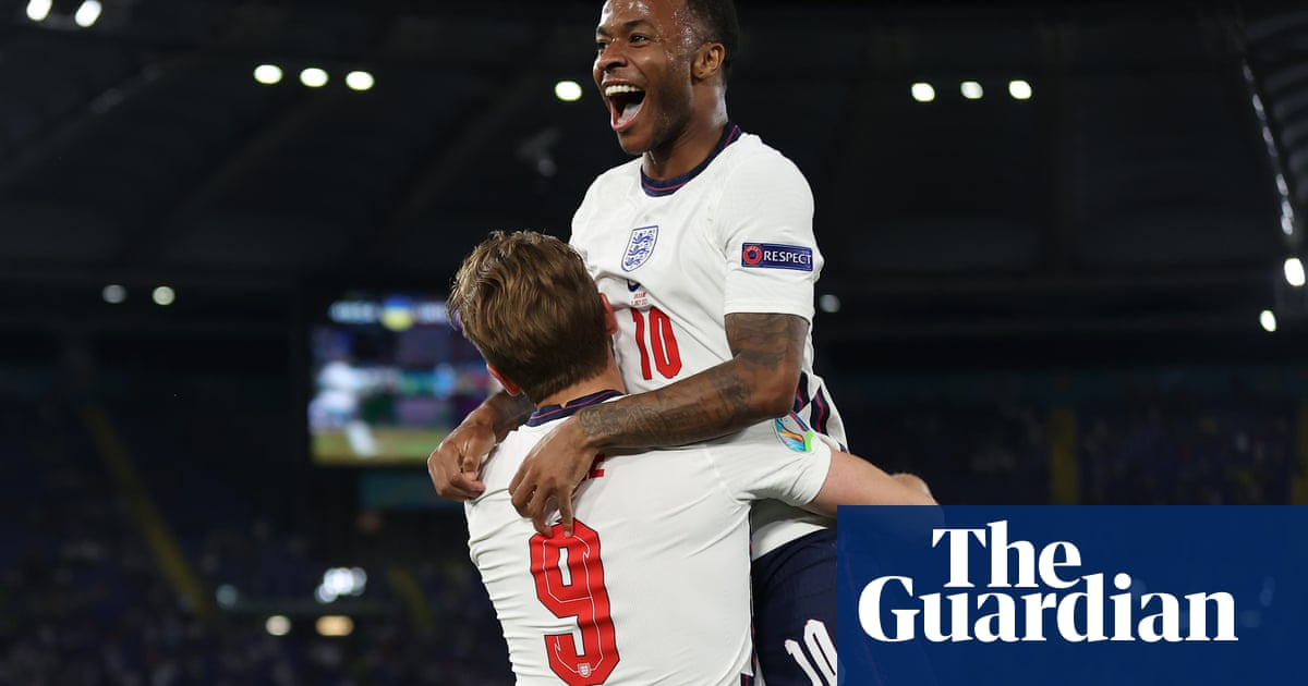 90 minutes from glory: England's road to the final in pictures