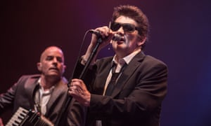 Shane MacGowan from the Pogues performs in Paris in 2012