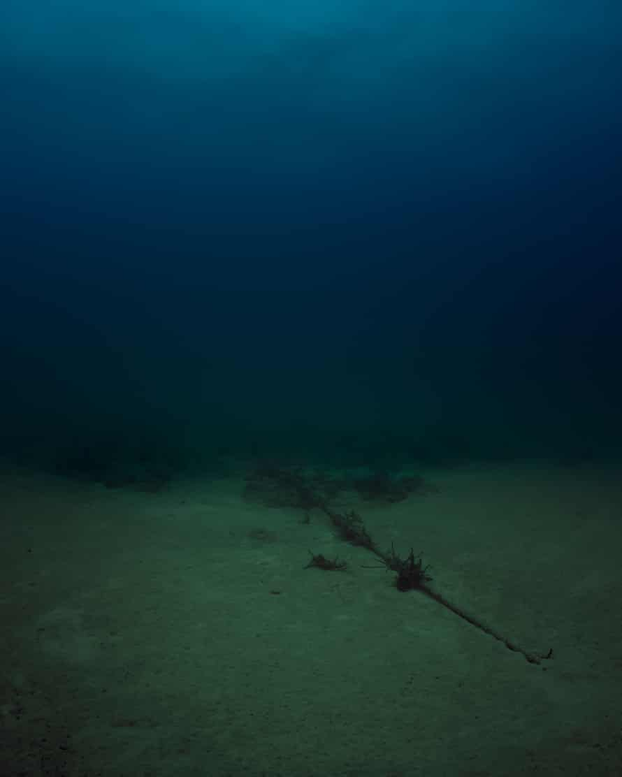 Bahamas Internet Cable System (BICS-1) NSA/GCHQ-Tapped Undersea Cable Atlantic Ocean, 2015by Trevor Paglen