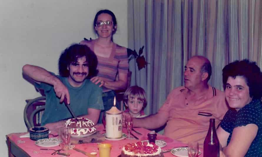 Nunzio and Maureen Gambale with parents at Nunzio's 23rd birthday.