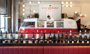 'Full of bustle and shout and the merry clink of glass on glass': Bob's Lobster in London Bridge.