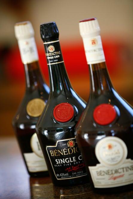 Benectine liqueur.