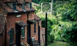 Exterior of The Mash Inn, Buckinghamshire, UK.