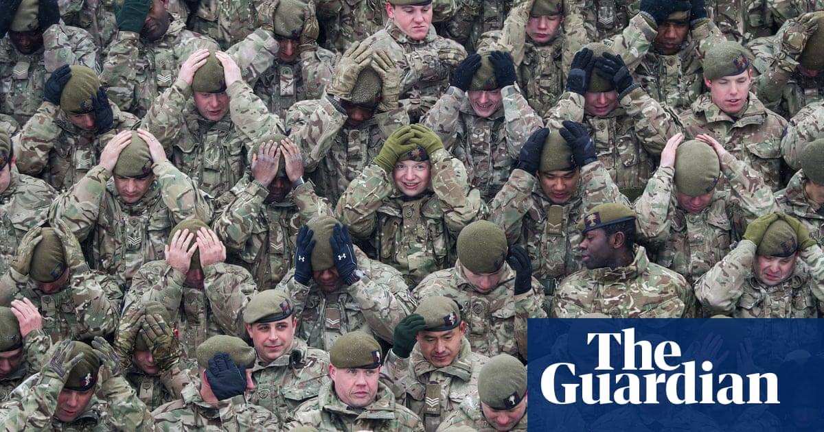 UK frontline troop numbers down by as much as a third | UK