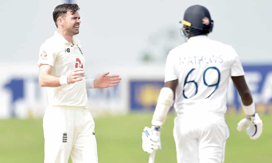 Jimmy Anderson claimed his best haul in Asia with six for 40 having been rested for the first Test.